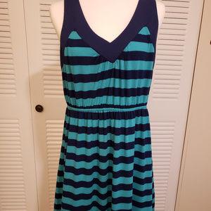 Faded Glory Maxi Striped Dress